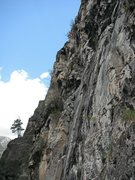 Rock Climbing Photo: Hanging around on the Prospector Wall