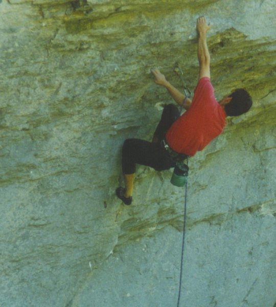 "Rock Climbing Photo: ""Boo"""