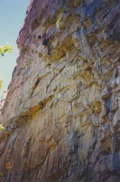 "Rock Climbing Photo: ""Lady Luck"""