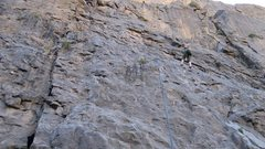Rock Climbing Photo: Chelly at Owens River Gorge