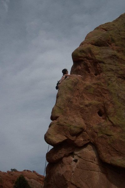 Rock Climbing Photo: Montezuma, Garden of the Gods