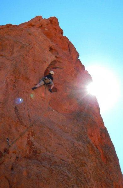 Rock Climbing Photo: Potholes, Garden of the Gods
