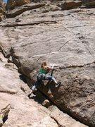 Rock Climbing Photo: TR without my brain bucket :)