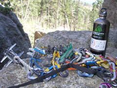 Rock Climbing Photo: Picture of some gear on Moonlight Ridge, SD