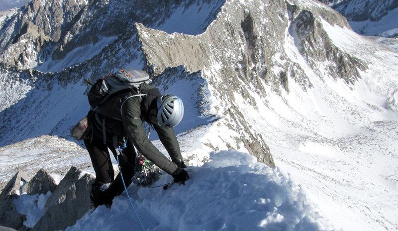 K2 in winter.