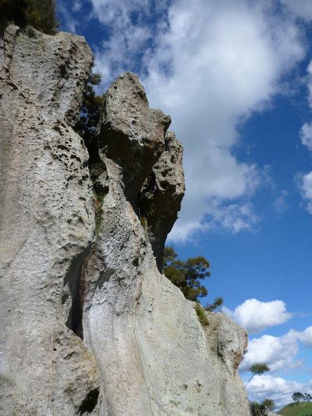 Rock Climbing Photo: Wrath of God