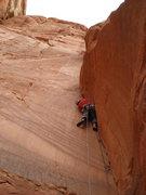 """Rock Climbing Photo: Second pitch (aka """"the puke pitch"""") on t..."""