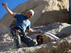 Rock Climbing Photo: Fun in the sun