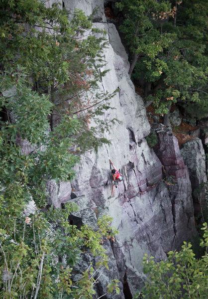 Reinke on Lost Face Overhang.