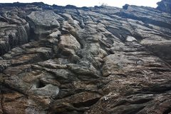 Rock Climbing Photo: MCB rock detail.