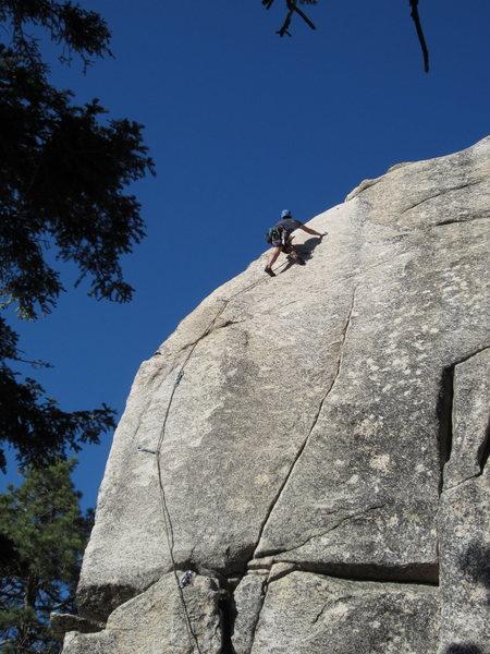 Rock Climbing Photo: always fun to slap and tickle...