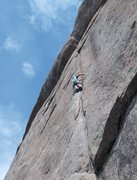 Rock Climbing Photo: One of the best routes I have done at Lumpy.