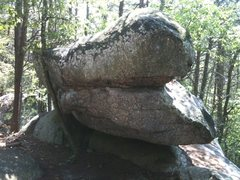 Rock Climbing Photo: You finish on this side