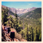 Rock Climbing Photo: Hiking to Mt. Evans Area A