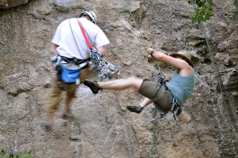 Rock Climbing Photo: Boys.