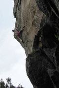 Rock Climbing Photo: right in the crux...