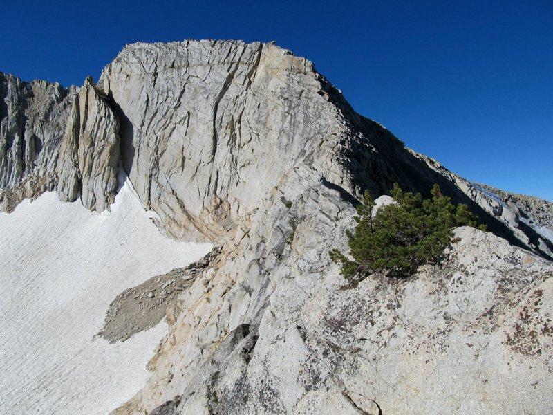 Rock Climbing Photo: Northwest Ridge of North Peak.