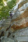 Rock Climbing Photo: Starting Gelsa
