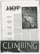 Climbing Magazine, Oct./Nov., 1991.