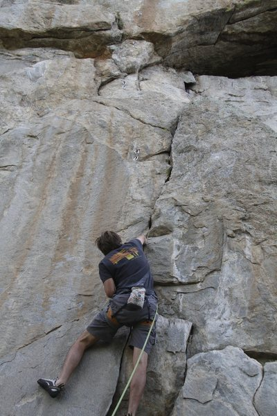 Nice crack climbing.