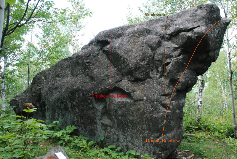 Rock Climbing Photo: Ely's Peak Bluff Boulder