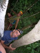 Rock Climbing Photo: ascending the tree