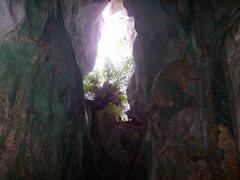 Rock Climbing Photo: climbers exit