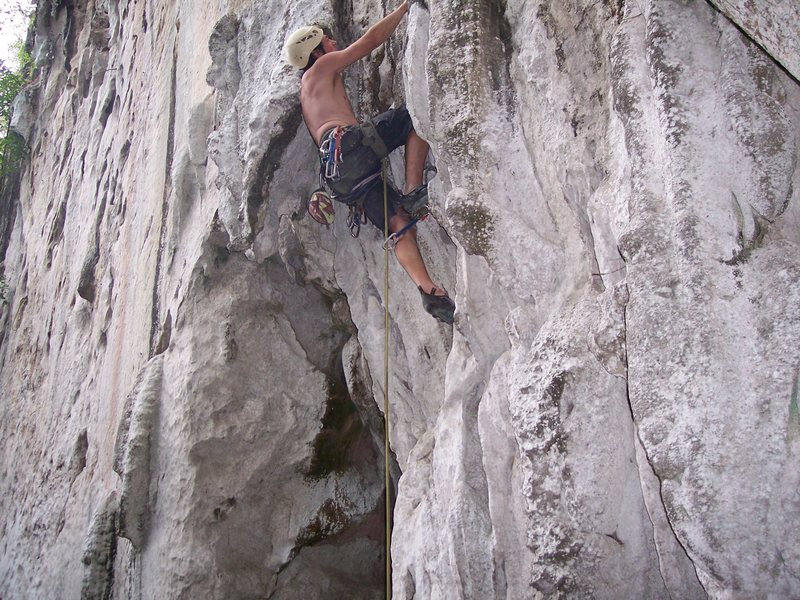 Rock Climbing Photo: classic route!