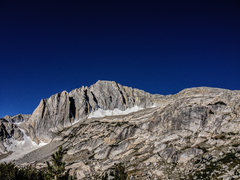 Rock Climbing Photo: Mt. Conness from the approach to the North Ridge. ...