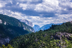 Rock Climbing Photo: Yosemite Valley with Half Dome in the center. Sadl...