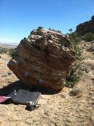 Rock Climbing Photo: Beta for Razor Cliche