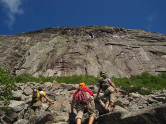 Rock Climbing Photo: approaching Cannon