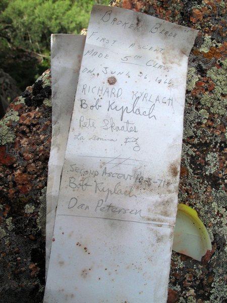 Broken Blade summit Register