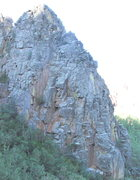Rock Climbing Photo: Broken Blade ridge Lower section, from the east