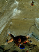 Rock Climbing Photo: pure palm 11a, lower gorge, smith rock