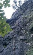 Rock Climbing Photo: the new rain delay