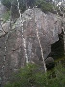 Rock Climbing Photo: Welcome to Welsford 5.12  W2W