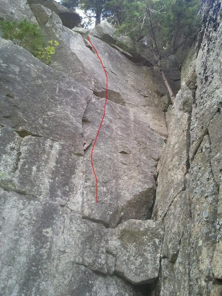 Rock Climbing Photo: Pack Attack 5.10