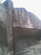 Rock Climbing Photo: Lilly 5.10a