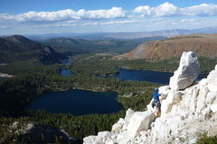 Rock Climbing Photo: Near the summit.