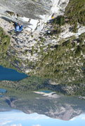 Rock Climbing Photo: North Arete of Crystal Crag.
