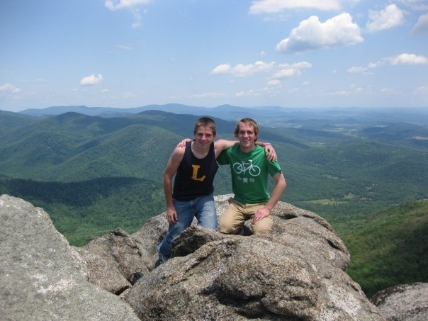 Rock Climbing Photo: Myself and the brother, Shenandoah.