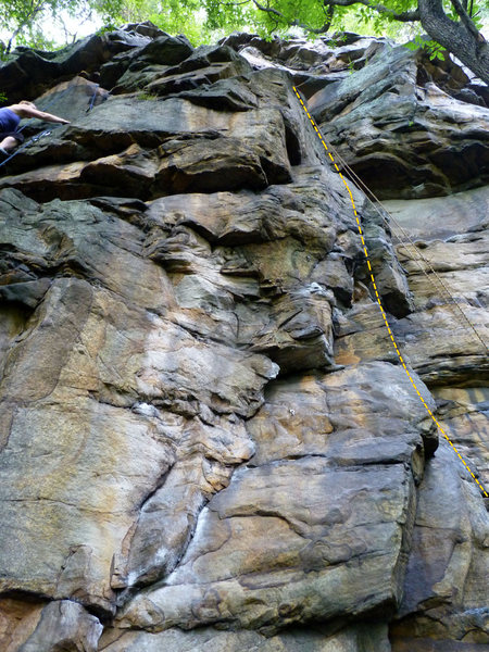 Rock Climbing Photo: Micro Brew Route