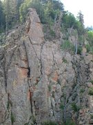 Rock Climbing Photo: The Escape route from the Watchtower.