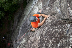 Rock Climbing Photo: Tom pulling into the awesome finger locks of One P...