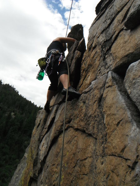 Castle Rock, Boulder Canyon