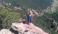 Rock Climbing Photo: 5th Flat Iron, Boulder, CO