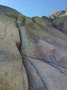 Rock Climbing Photo: Telegraph Crack.