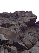 Rock Climbing Photo: Almost @ the anchor.