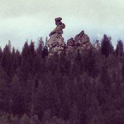 Rock Climbing Photo: Lazy Squaw Spire.